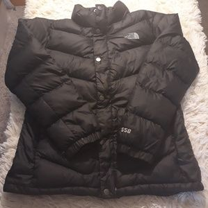 The north face puffer jacket girls XL 18